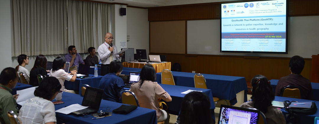 GeoHealth Training, Bangkok, 04/2014